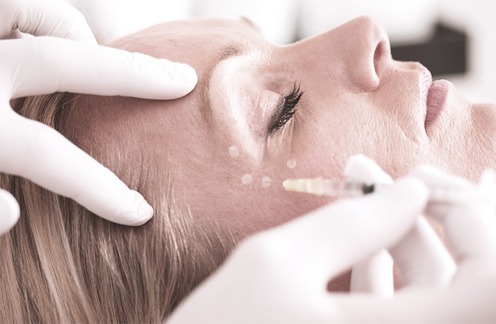 Leistung - Botox Faltenbehandlung